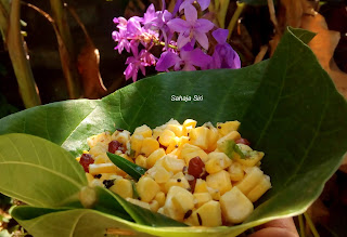 Simple Sweet corn Salad