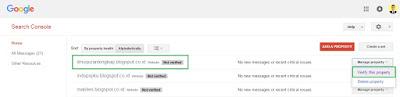 Kode verifikasi google webmaster