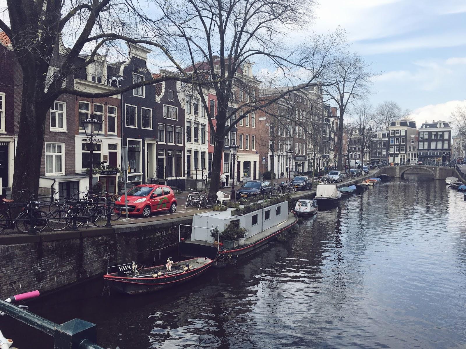 Amsterdam, Nizozemsko, travel blog, ejnets