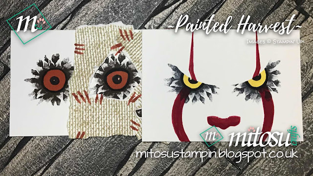 Stampin' Up! Spooky Ideas Painted Harvest Mitosu Crafts UK Online Shop