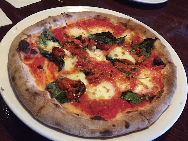 Fresh Wood-Fired Margherita Pizza at VAI's Naperville