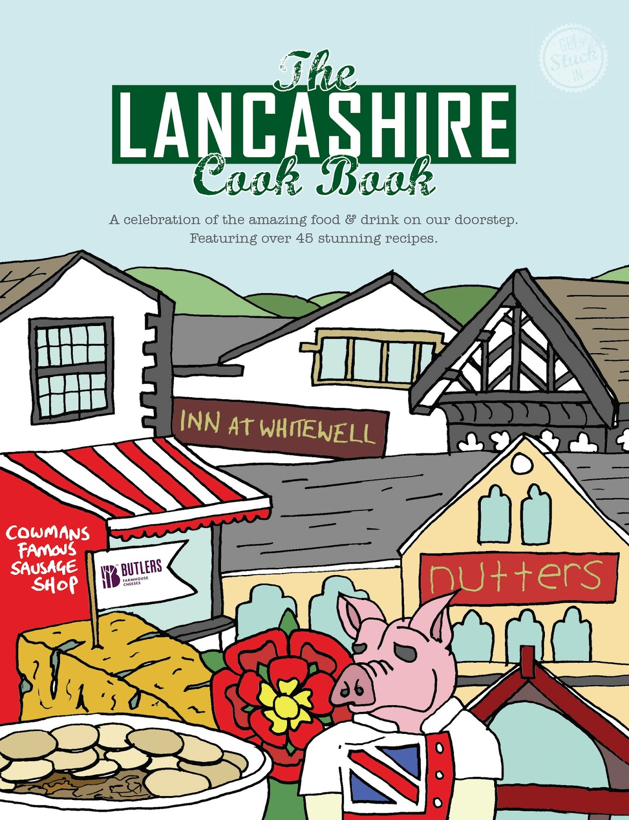 The Lancashire Cook Book - review and giveaway