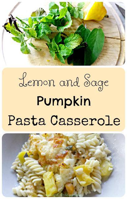 Pinterest Lemon and Sage Pumpkin Pasta Casserole
