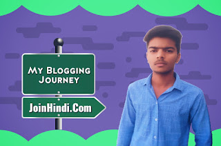 My Blogging Journey