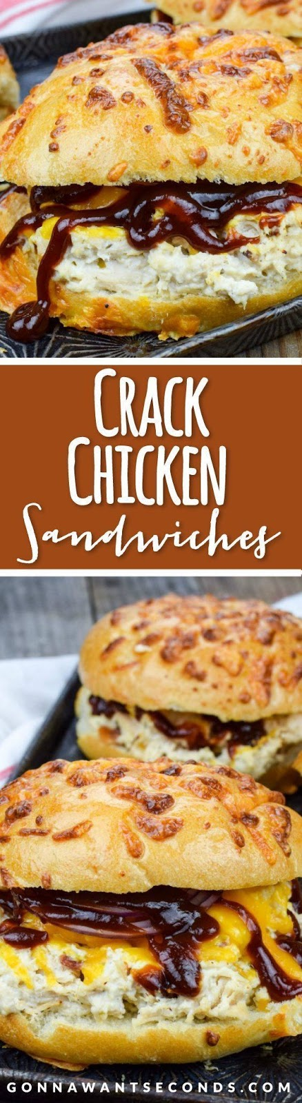 CRACK CHICKEN SANDWICHES