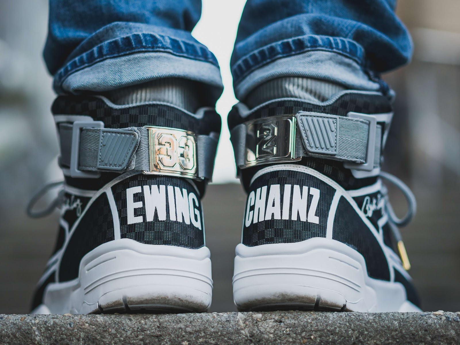 separation shoes c3141 955fe 2 Chainz has joined forces with Ewing Athletics to launch a collaborative  sneaker. The canvas of choice is the Ewing 33 Hi which exudes an old school  ...