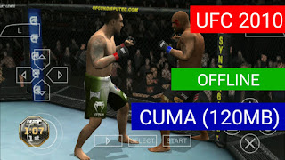 (120MB) Cara Download UFC 2010 PSP Highly Compressed Android Offline