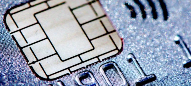 Chip cartão de crédito