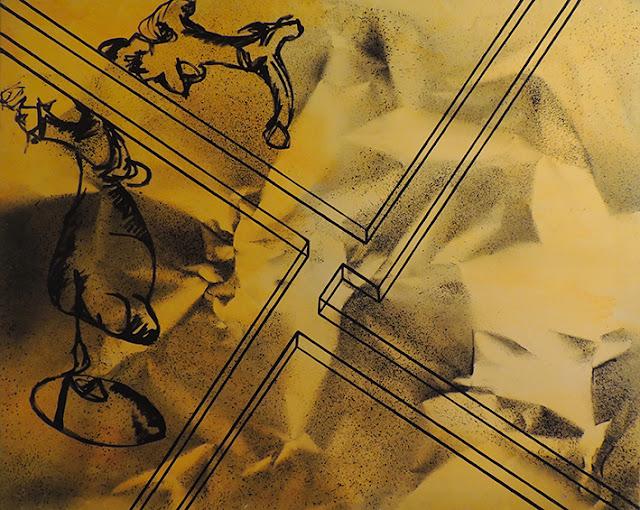 Enric Pascó i Ticó obra expresionista abstracta bifurcación
