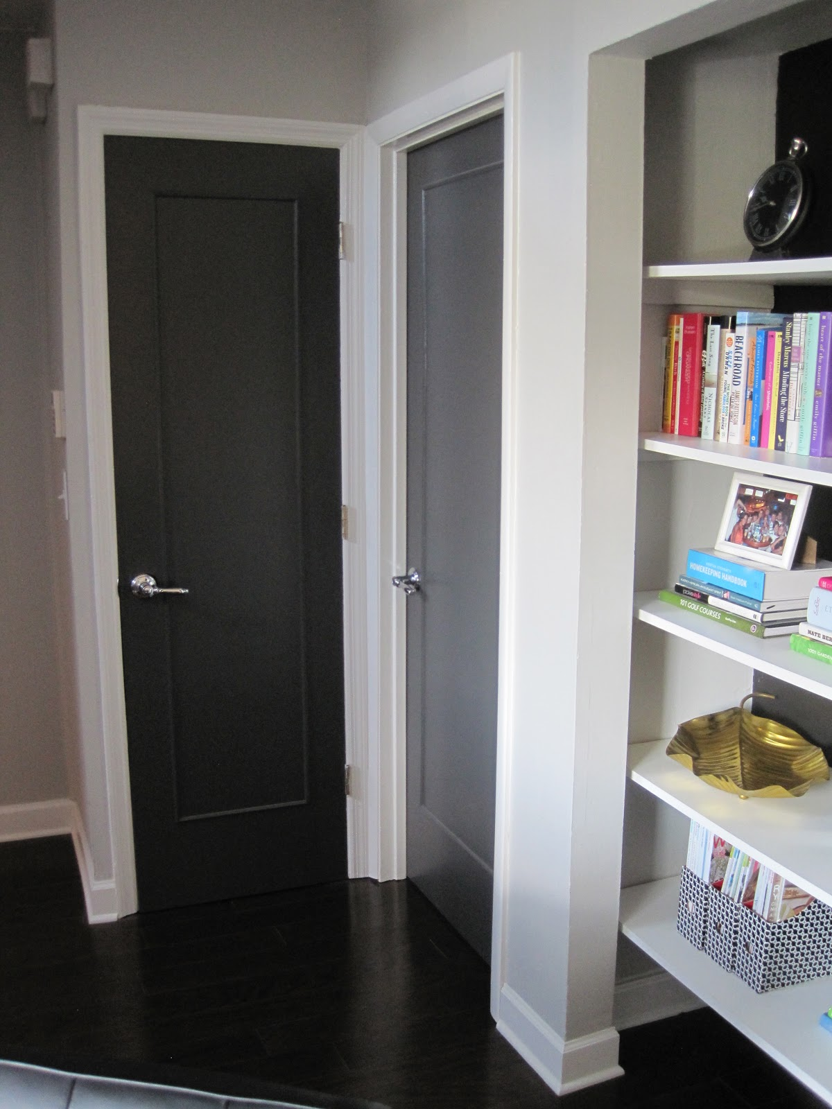 Confetti And Stripes Diy Dressing Up Plain Flat Doors