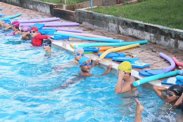 Amec realiza Festival de Natação com as escolas de Iniciação Esportiva