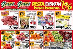 Katalog Promo JSM Giant Weekend Terbaru 19 - 21 Oktober 2018