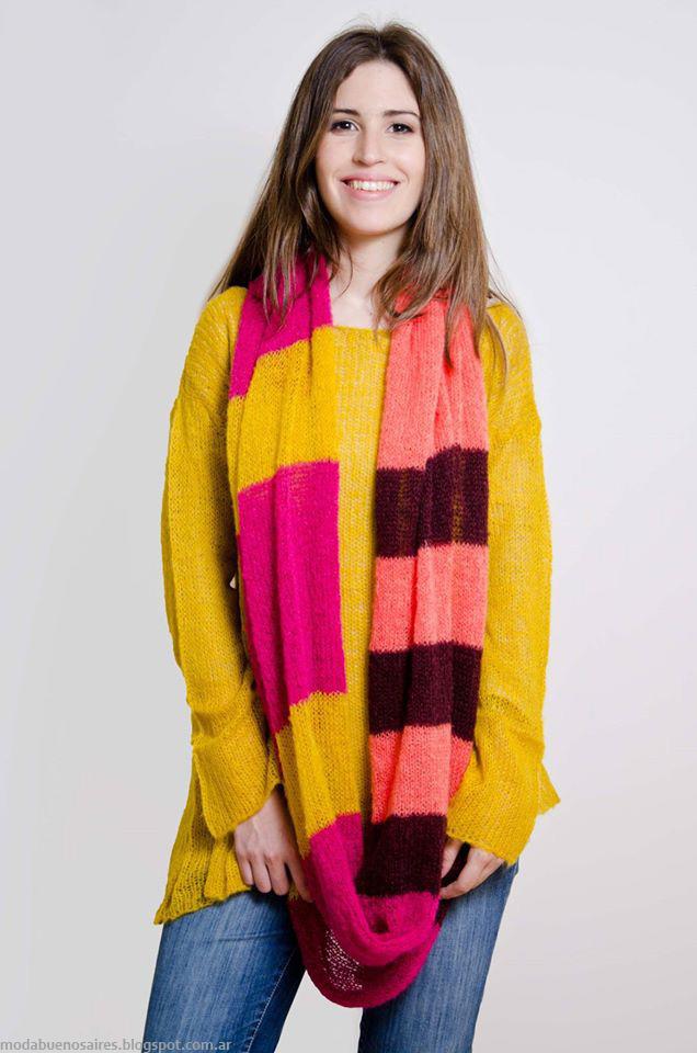 Ropa tejida moda otoño invierno 2016 Sweaters Lares.