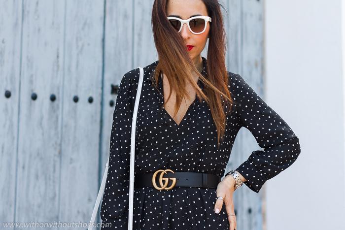Influencer blogger moda de Valencia con ideas de looks para vestir de Zara con estilo