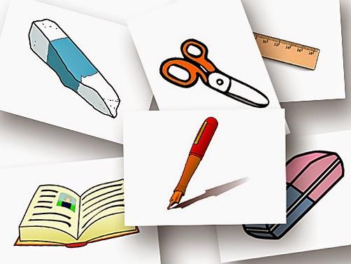 Bildkarten In der Schule - DaZ Material für die Sprachförderung in der Grundschule
