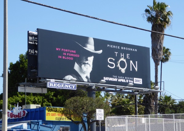 The Son series launch billboard