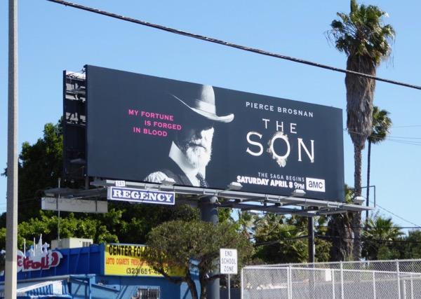 The Son series launch billboard
