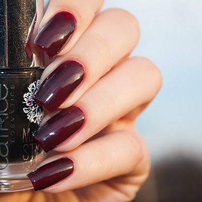 Orly Red Flare + Catrice No Smoke Without Fire