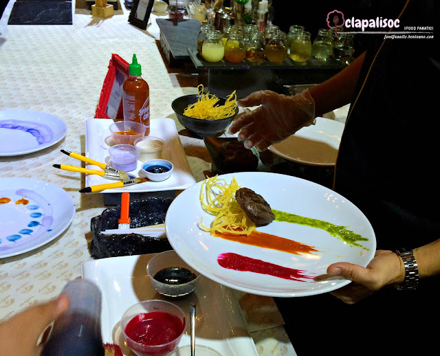 Food Painting at Buddha Bar