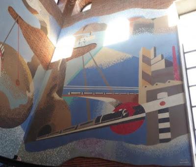 Mosaico futurista La Spezia
