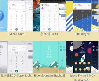 Migliori temi Themes Thursday per smartphone e tablet Samsung