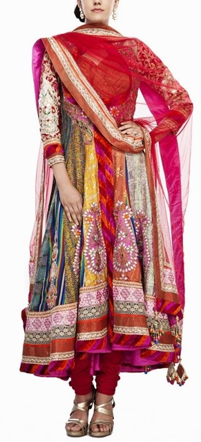 Bridal Anarkali Suits collection of R&H
