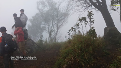 Pendakian Gunung Willis 2.300 mdpl via Bajulan
