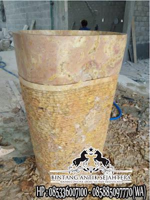 Pedestal Marmer, Jual Wastafel Marmer, Jual Pedestal Marmer