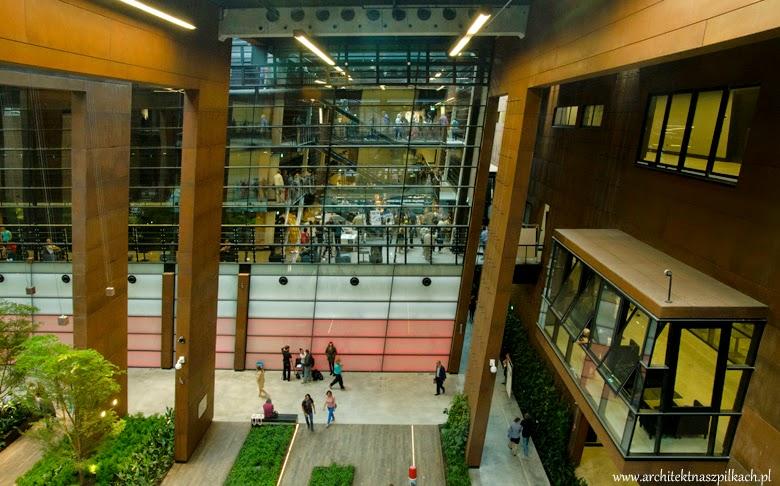 Europejskie Centrum Solidarności, architektura i wnętrze, Gdańsk