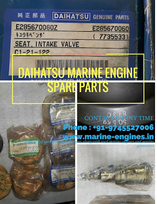 used spare parts, second hand, Daihatsu engine parts, Daihatsu Product, Daihatsu marine engine models