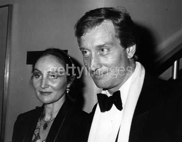 Actor Charles Dance: Charles and ex-wife Joanna (marriage ...