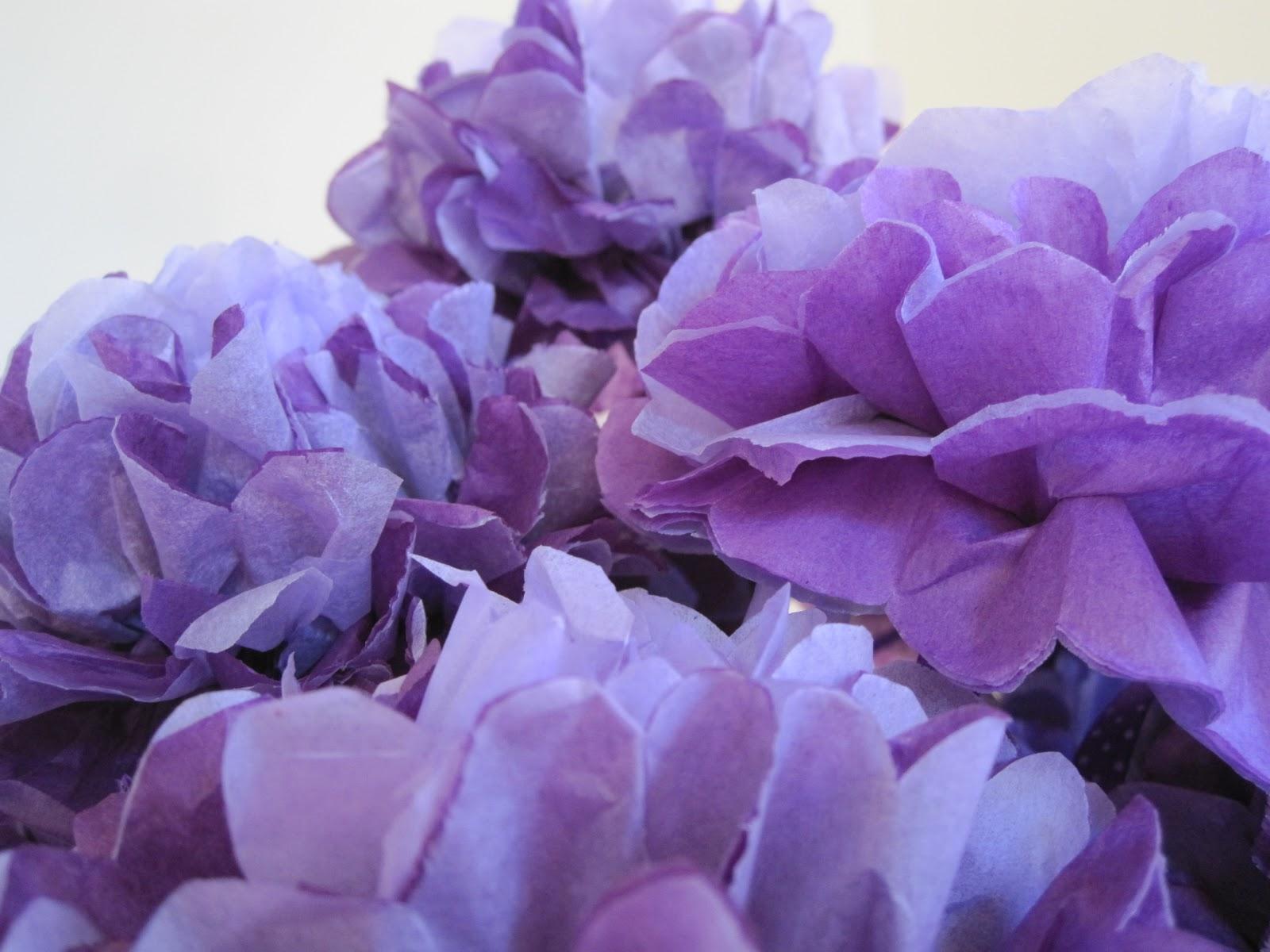 Cassadiva How To Make Tissue Paper Flowers
