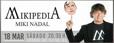 Miki Nadal con MIKIPEDIA