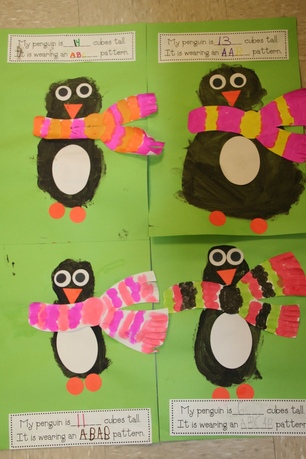 Mrs Lee S Kindergarten Penguin Math