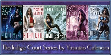 Feature: Release Day Celebration - Night's End by Yasmine Galenorn - July 1, 2014