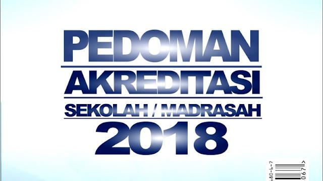 Draf Pedoman Akreditasi Sekolah Madrasah 2018