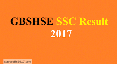 GBSHSE GOA SSC Result 2017