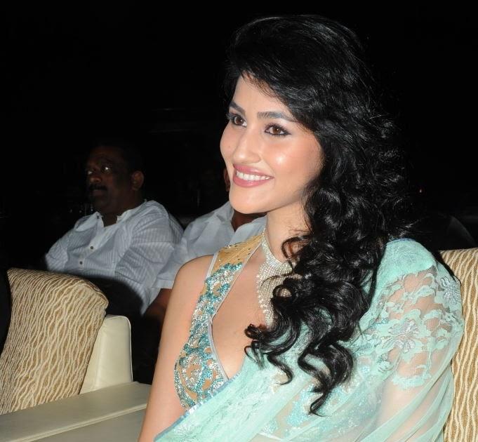 Tamanna In Saree In Rebel: Panjaa Actress Anjali Lavania Hot Saree Stills At Panjaa