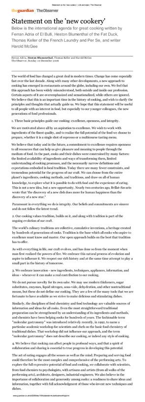 Um percurso de 50 anos da cozinha clssica s tendncias actuais ii talvez um nome mais apropriado para esta cozinha de sentidos e sentimentos seja o que pau arens lhe deu no seu livro de 2006 la cocina de los valientes fandeluxe Gallery