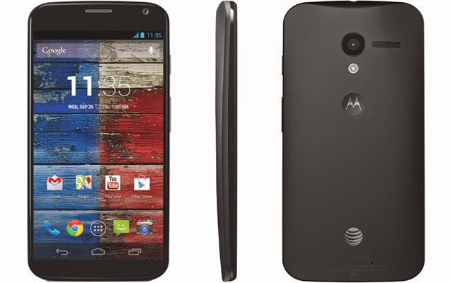 AT&T Moto X android 4.4.4