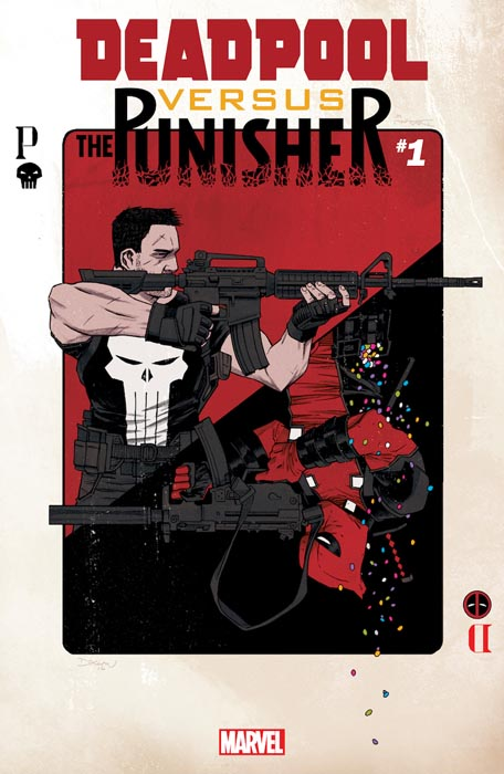 """Deadpool Versus The Punisher"" de Fred Van Lente y Pere Perez"
