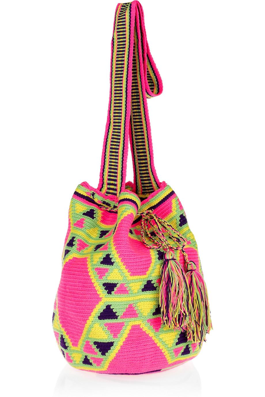 женщина вязаные сумки лето 2011