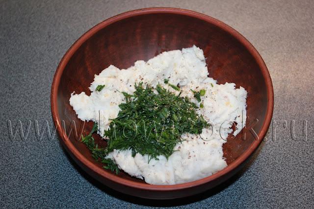 рецепт паштета из сала с чесноком и зеленью с пошаговыми фото