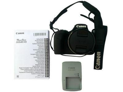 Equipo de Cámara Digital Canon Power Shot SX 540 Hs