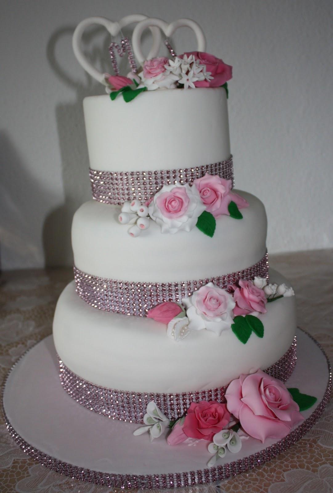Torten Tortchen Und Amore Meine Allererste Hochzeitstorte