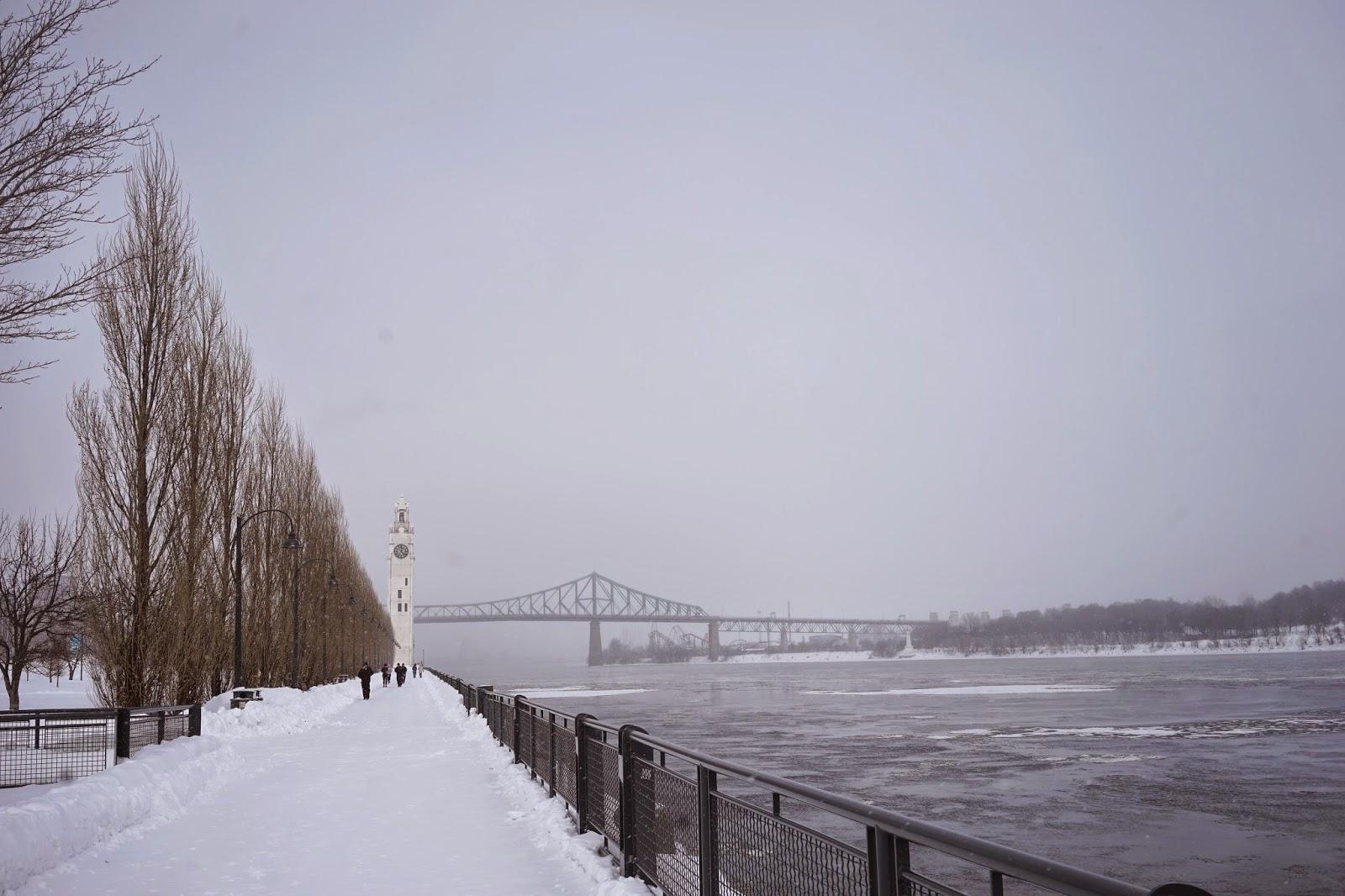 frozen st lawrence river