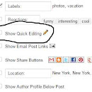Remove Quick Edit & Wrench Tool Icon from Blogger Blog to Increase SEO