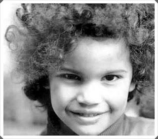 Slash, quando criança