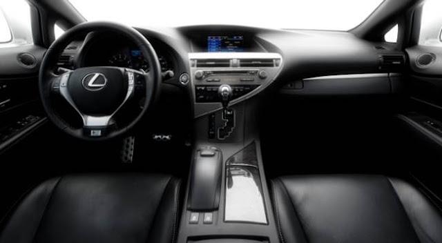 2018 Lexus RX 350 F Sport Specs