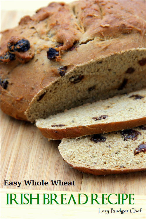 Easy Whole Wheat Irish Bread Recipe